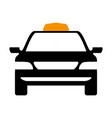 taxi cab service vector image