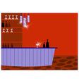 Retro Cocktail Bar vector image