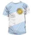 Argentinean tee vector image