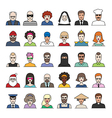 characters part2 vector image vector image