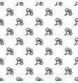 exotic plumeria pattern seamless vector image