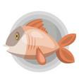 fish color vector image vector image