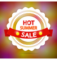 hot summer sale vector image vector image