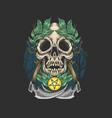 kull dead epidemy artwork symbol vector image vector image