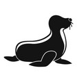 seal icon simple style vector image vector image
