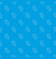 three stars pattern seamless blue vector image