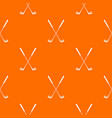 two golf clubs pattern seamless vector image vector image