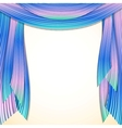 Abstract striped background frame vector image