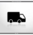 delivery web icon vector image