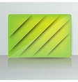 Background with abstract blank for text vector image vector image