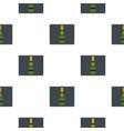champagne bottle pattern flat vector image vector image