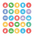 Clothes Icons 3 vector image vector image