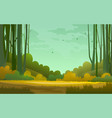 forest wilderness landscape abstract background vector image vector image