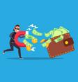 phishing money concept cyber banking vector image vector image