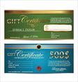 Premium Certificate Template vector image vector image