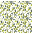 Recycling garbage seamless pattern vector image vector image