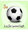 Soccerball vector image vector image