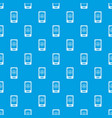 taxi app in phone pattern seamless blue vector image vector image