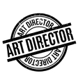 Art Director rubber stamp vector image vector image