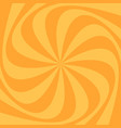 geometric spiral background vector image vector image