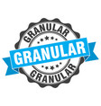 granular stamp sign seal vector image vector image