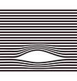 lines background black and white minimal vector image