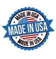 Made in usa label or sticker