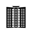 Office building icon simple style vector image vector image