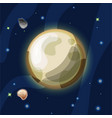 pluto cartoon plutonus or vector image vector image