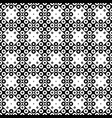 ring pattern background - black and white design vector image vector image
