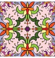 Seamless floral pattern background Colorful vector image vector image