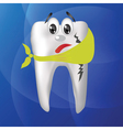 tooth hurts vector image vector image