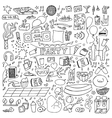 Adult Party Doodle Set vector image vector image