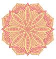 Ethnic decorative design element Colorful mandala vector image vector image