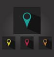 gps icon vector image vector image