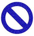 no sign icon grunge watermark vector image
