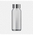 water bottle icon realistic style vector image vector image
