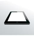 tablet black vector image