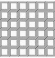 abstract seamless geometric pattern of diagonal vector image vector image