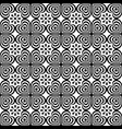 abstract seamless pattern with geometric ornaments vector image vector image