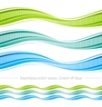 Abstract seamless wave pattern on white background