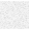 creative of stream of binary vector image