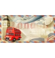 London postcard vector image vector image