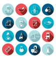 Pharmacist icon outline set vector image vector image