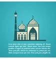 Religion mosque vector image