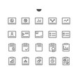 report ui pixel perfect well-crafted thin vector image
