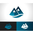 Rocky Mountain Icon vector image vector image