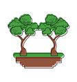 tree game icon vector image