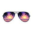 cool aviator sunglasses sunset beach