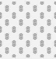 minimal dollar pattern vector image vector image